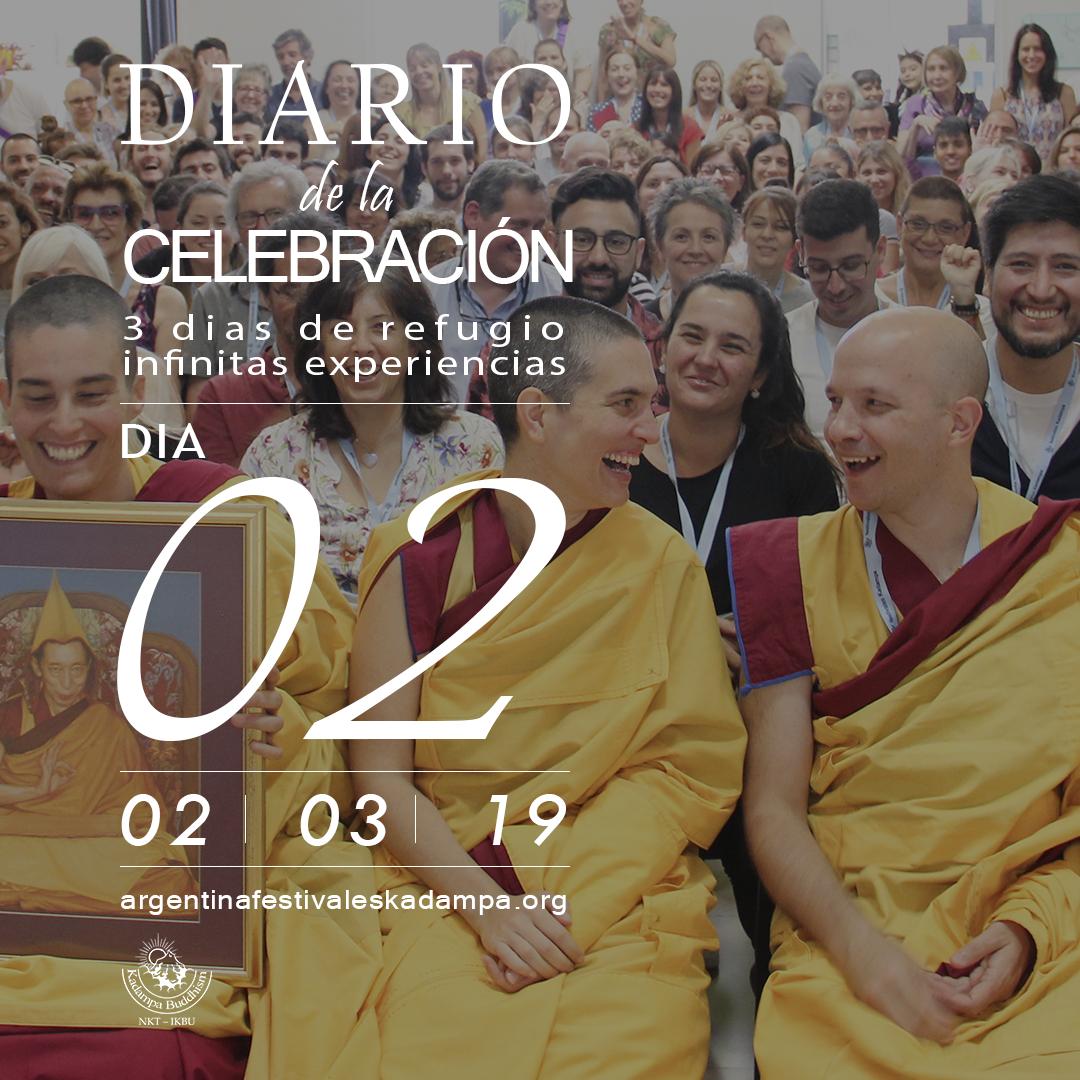 diario de la celebración